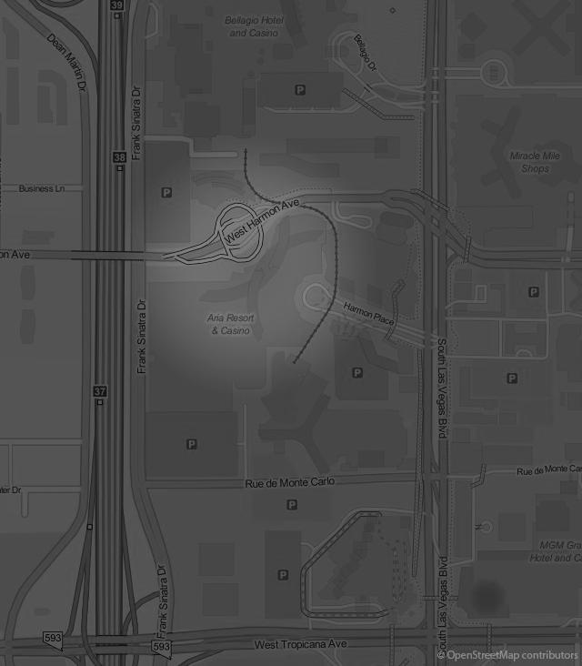 Footer Site Map: Vdara Suite - Las Vegas Suites