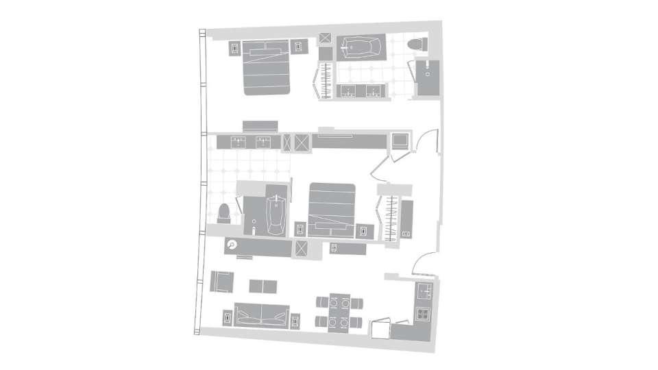 Vdara 2 Bedroom Penthouse | Rickevans Homes