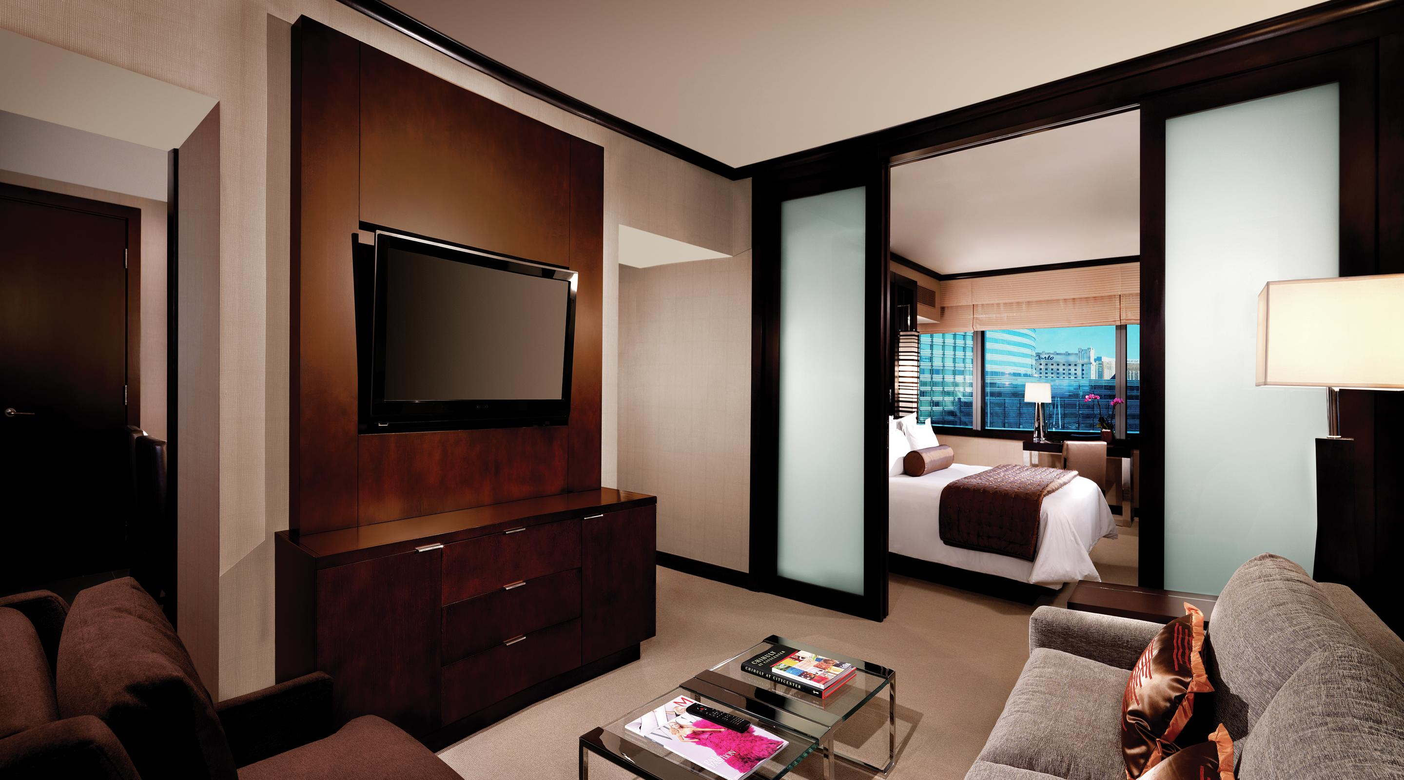 Vegas Hotel Two Room Suites