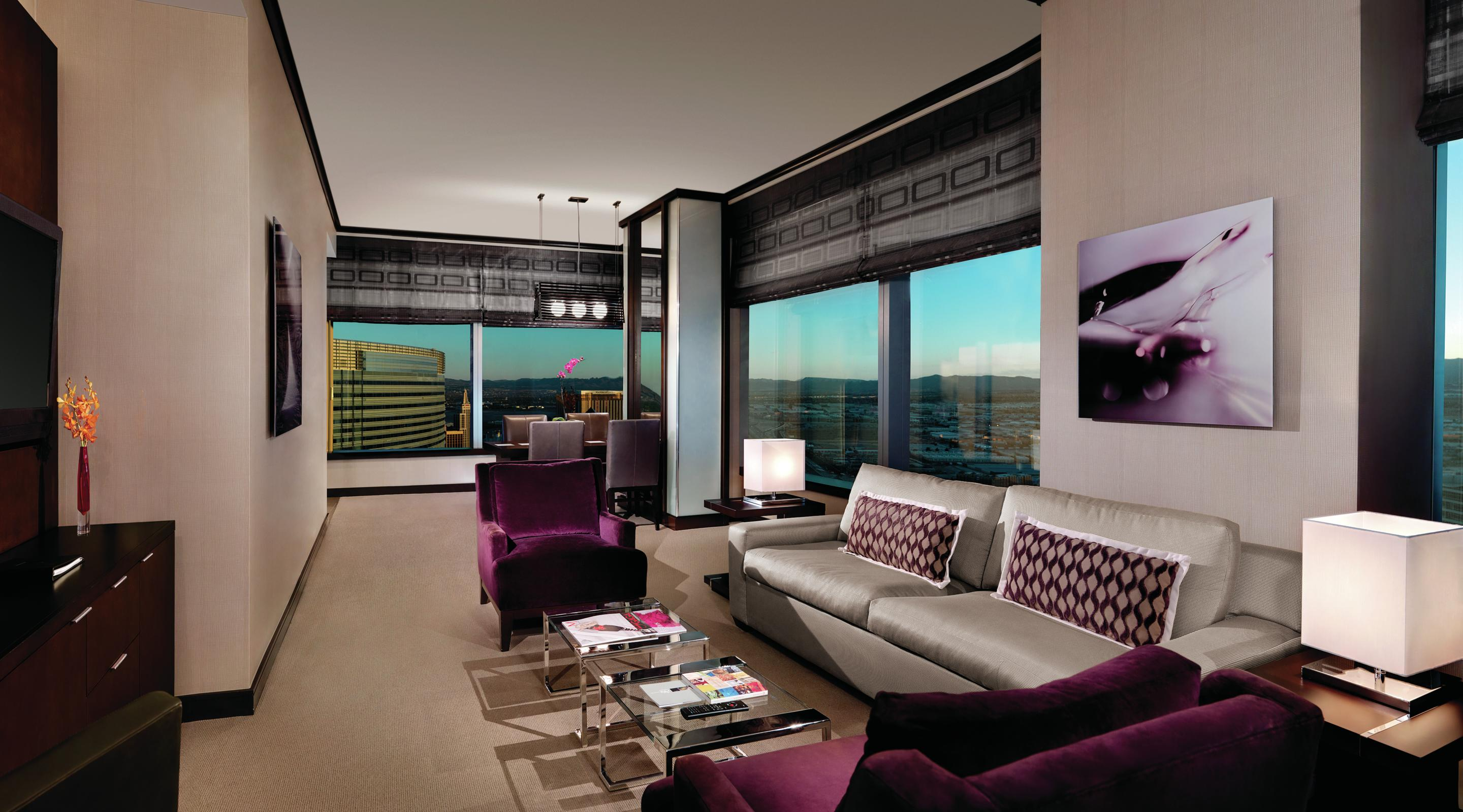 Bellagio 2 Bedroom Penthouse Suite Property penthouse suites  2 bedroom penthouse suite  vdara hotel & spa