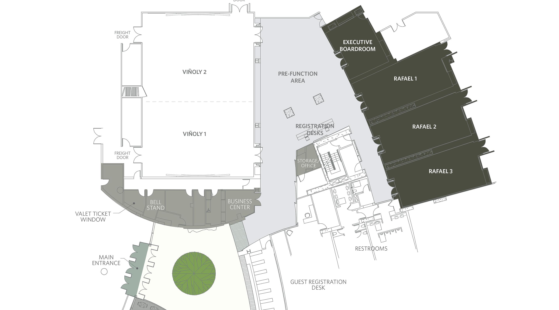 meeting rooms convention spaces vdara hotel spa virtual tour floor plan 292 00 kb