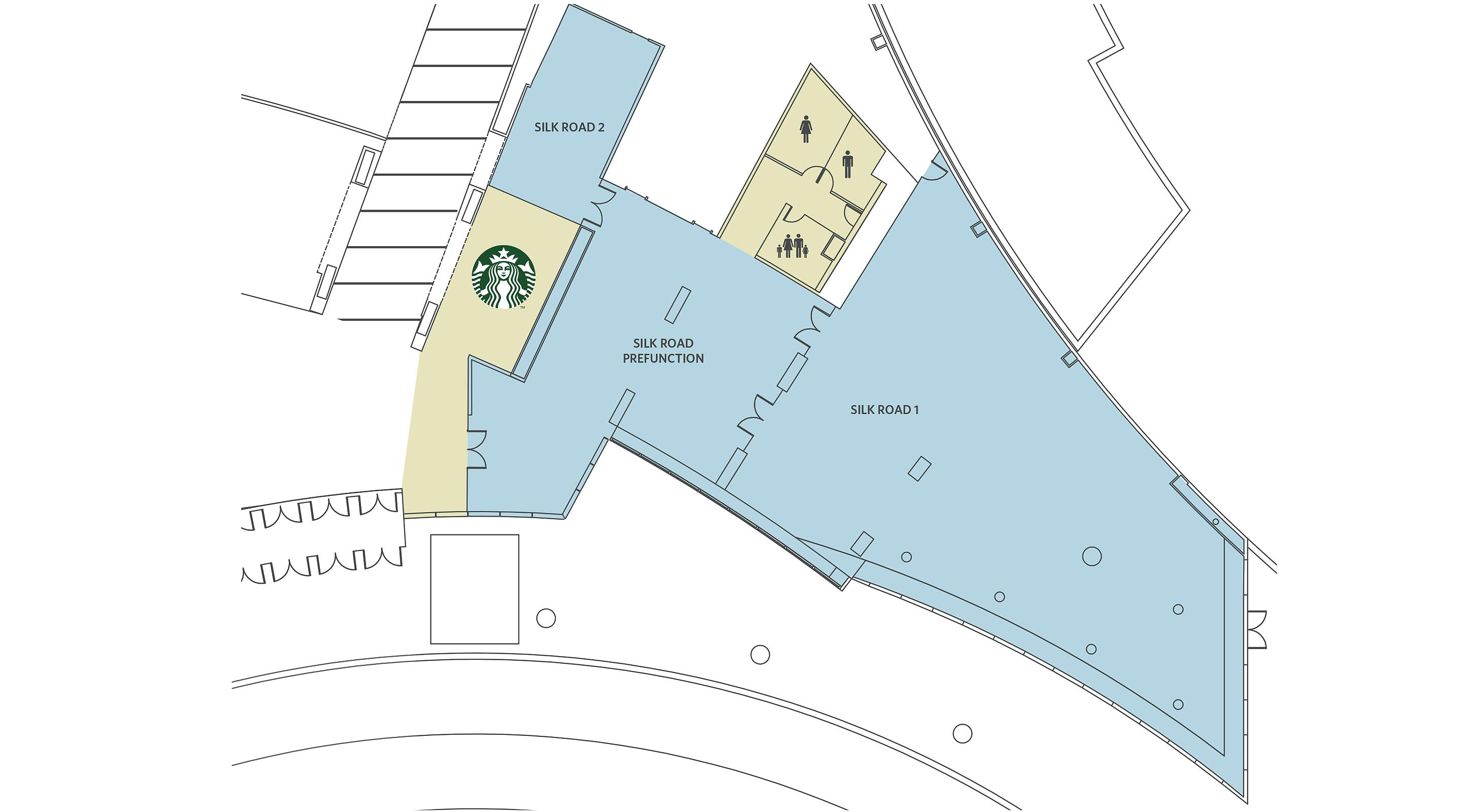 Encore Meeting Rooms Map